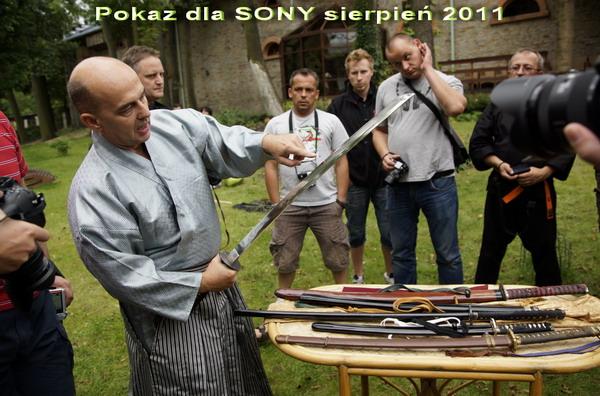 pokaz rycerski samuraj katana budo bugei